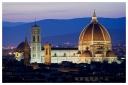 Florence: Duomo at dusk