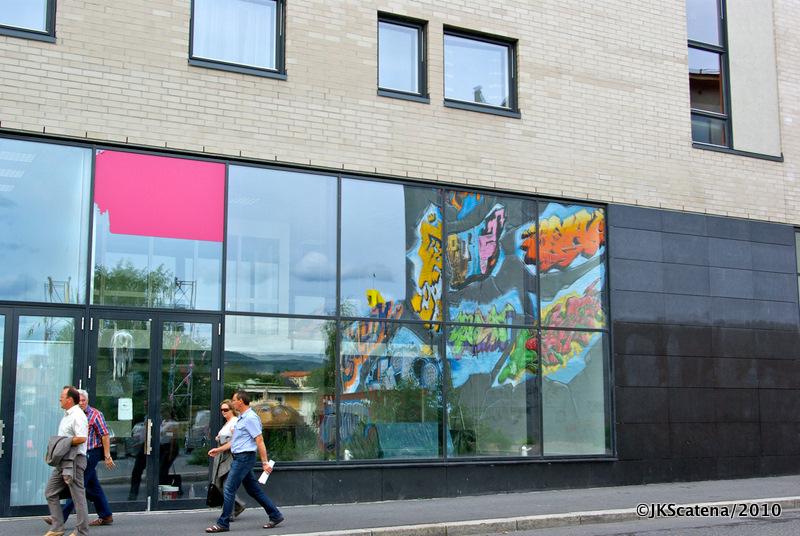 Oslo's graffiti Reflex