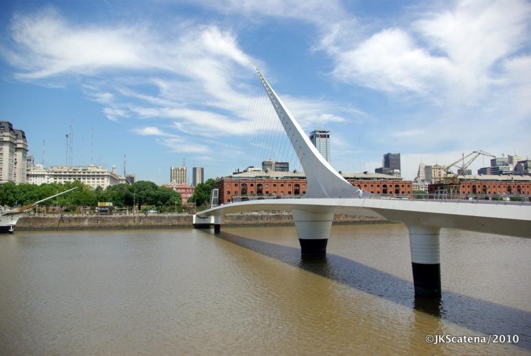 Puerto Madero Bridge, Buenos Aires