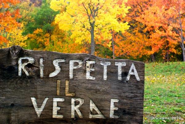 Abruzzo: Rispetta Il Verde