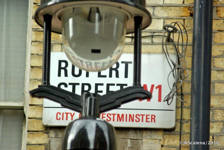 London: Street Rupert Street, W1