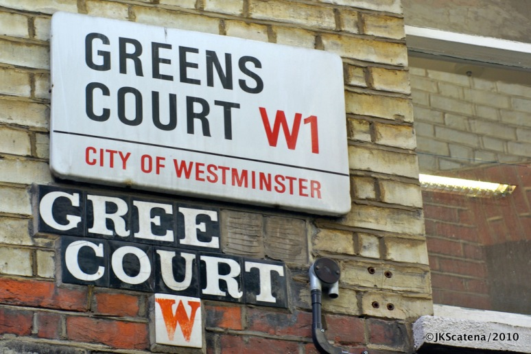 London: Greens Court, W1