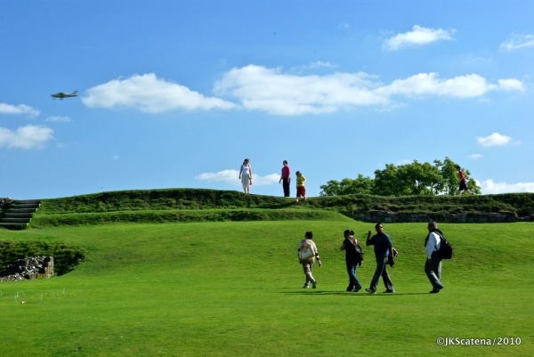 Old Sarum: Green