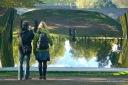 Anish Kapoor @ Kensington Gardens: C-Curve, 2