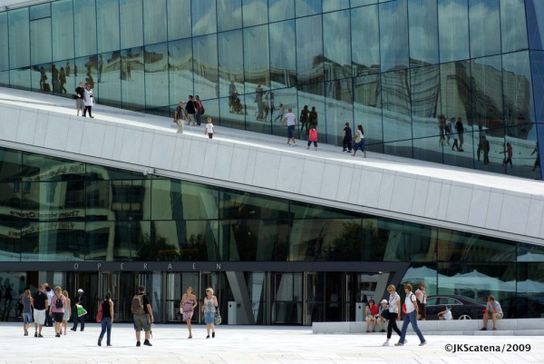Oslo: National Opera, Architecture