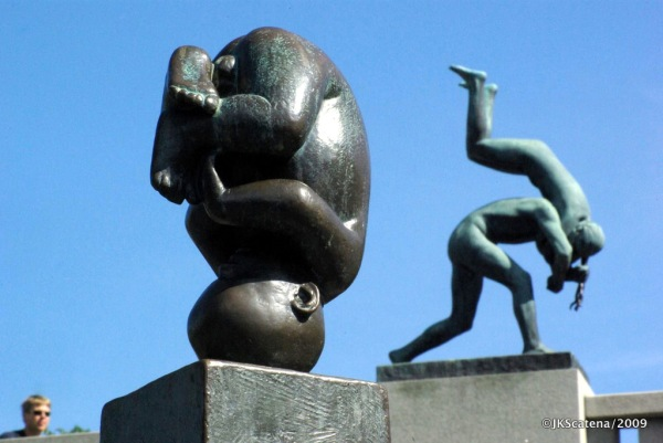 Oslo: Vigelandsparken, Sculpture