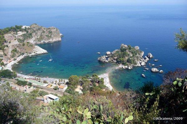 Sicilia: Taormina, Isola Bella