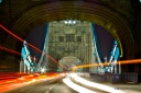 London: Tower Bridge trafic
