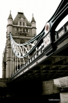 London: Tower Bridge, vintage