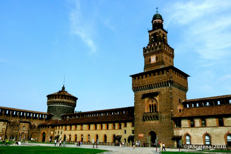 Milano: Castello Sforzesco