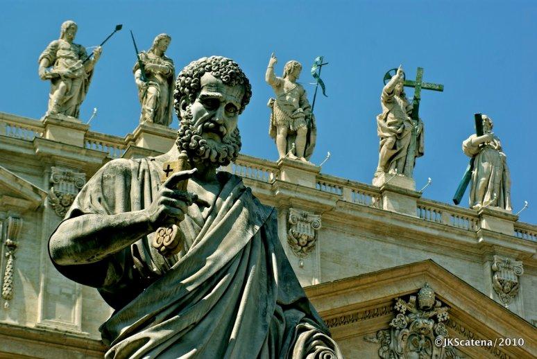 Vatican City:  St Peter's Basilica