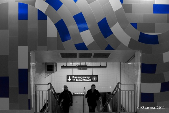 New York: Subway, Blue