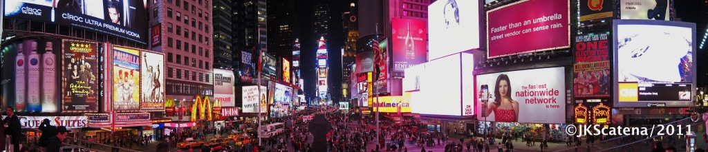 New York: Times Square Panorama
