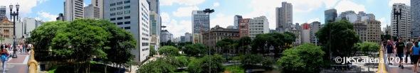 São Paulo: Anhangabaú panorama