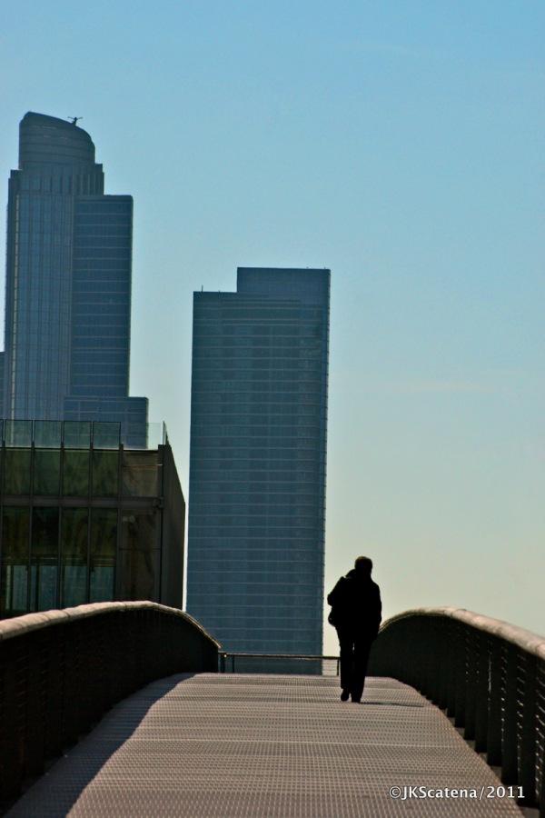 Chicago: Art Institute bridge