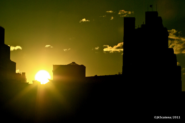 Conceptual New York: Sunrise