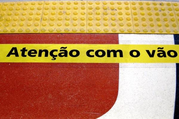 Rio de Janeiro: Atenção com o vão