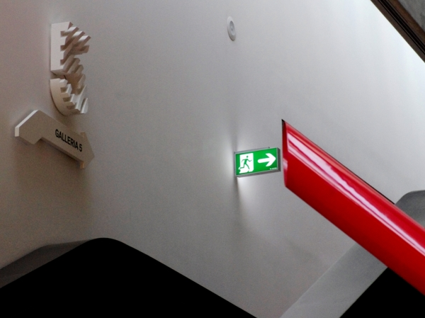 Rome: MAXXI, Exit down