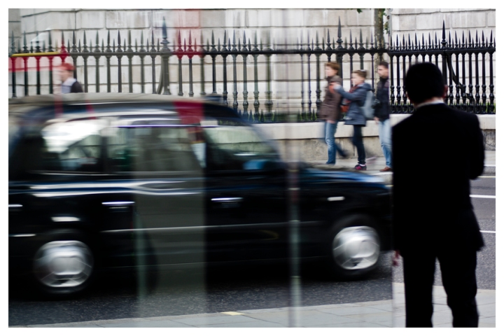 London, black cab: Not Really There