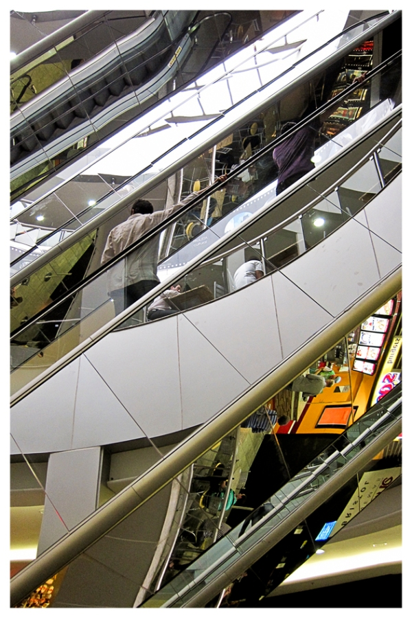 São Paulo: Escalator (Not Really There)