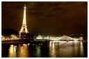 Paris: Night shot, Seine