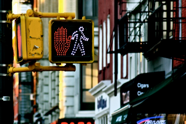 New York: Stop|Walk