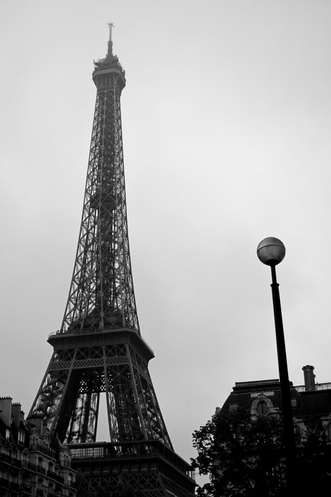 Paris: Eifel (Black & White)