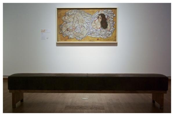 Vienna: Sente IIIA, Schiele