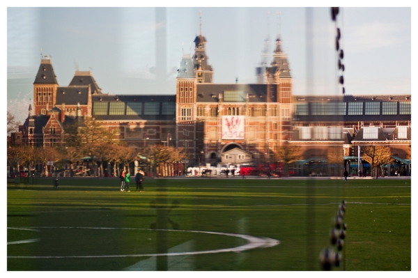 Amsterdam: Rijksmuseum (Not Really There)