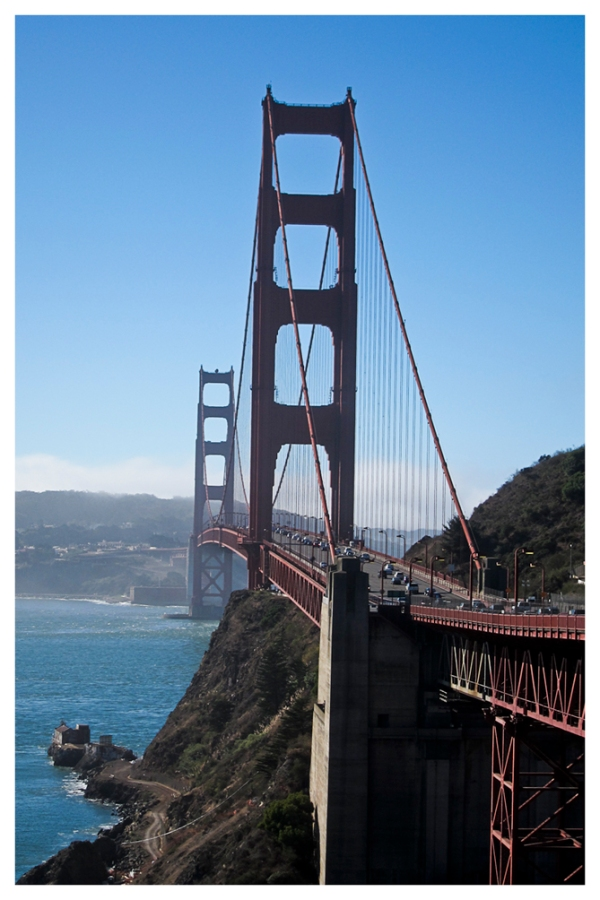 San Francisco: Golden Gate (Vista Point)