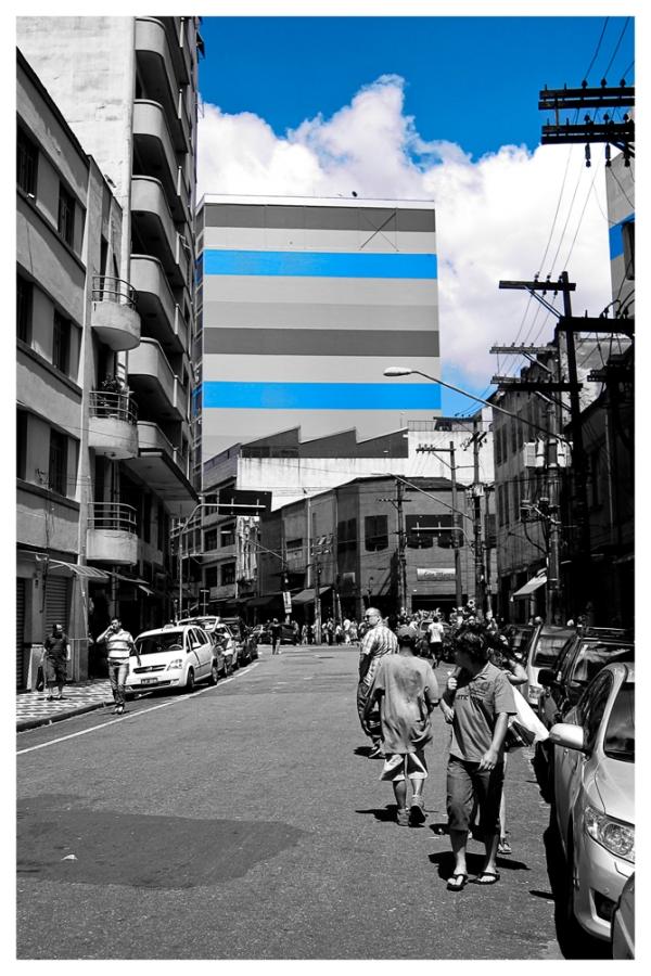 São Paulo: 25 de Março, Blue