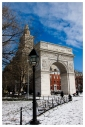 New York: Washington Sq (Winter)