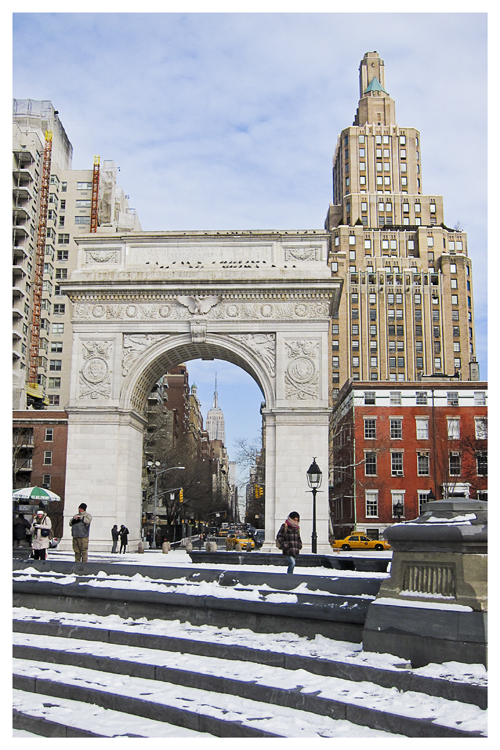 New York: Washington Square & ESB