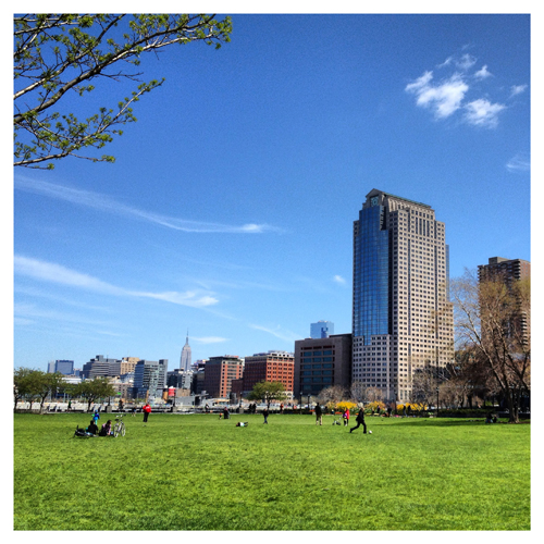 New York: Battery Park North Lawn (Instantaneo)