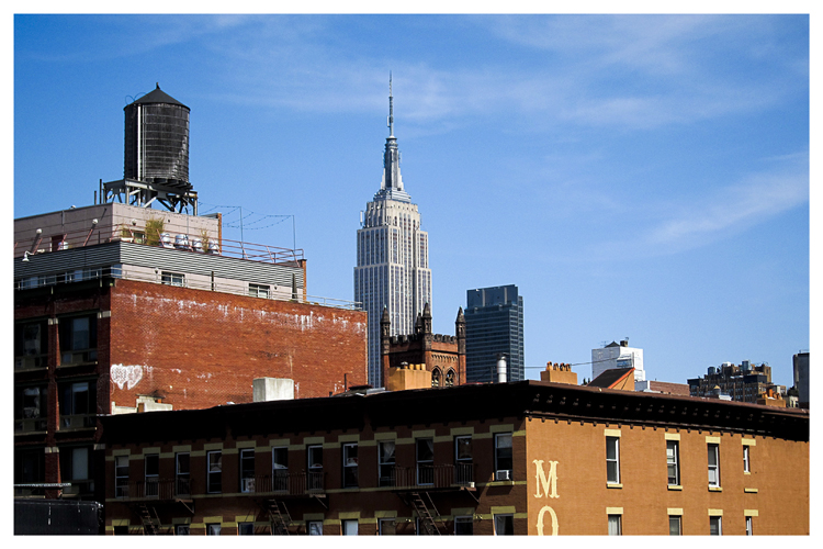New York: Skyline with Empire States Building