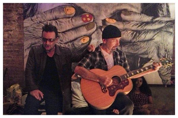 U2 in NYC (InsideOut)