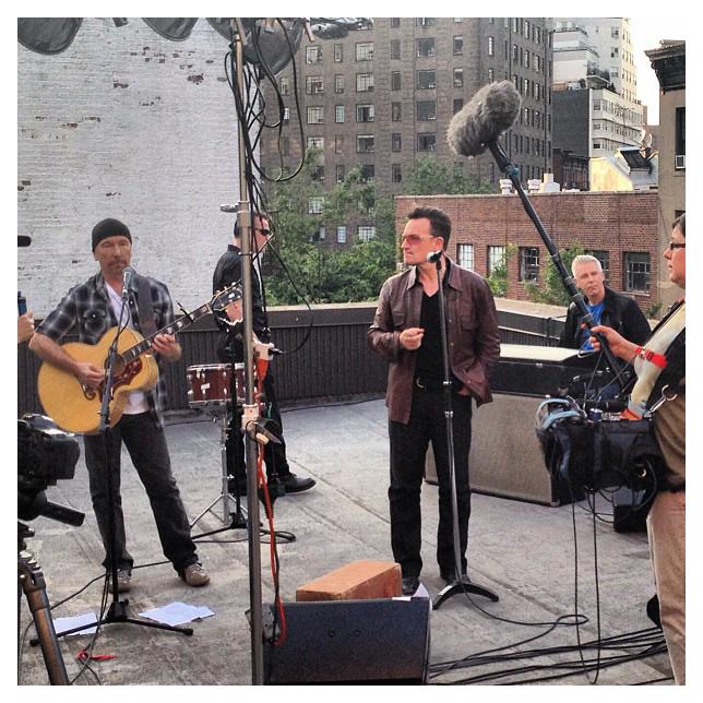 U2 in NYC (Instantâneo)
