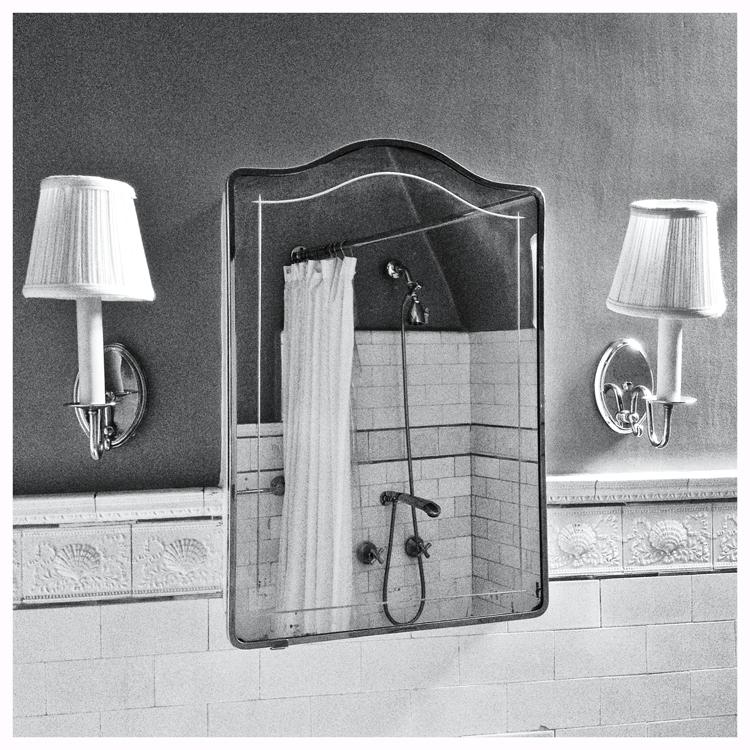 Bathroom Mirror @ The Dakota