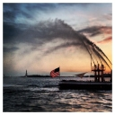 New York: Sunset & Showers (Statue of Liberty)