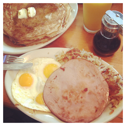 Dayton: The Lumberjack Breakfast (Instantaneo)