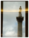 London: Nelson's Column (Not Really There)